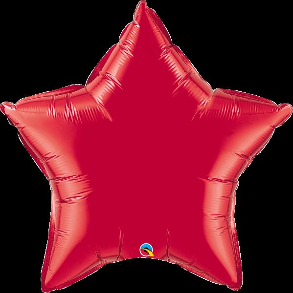 Folienballon Stern Rot 90 cm