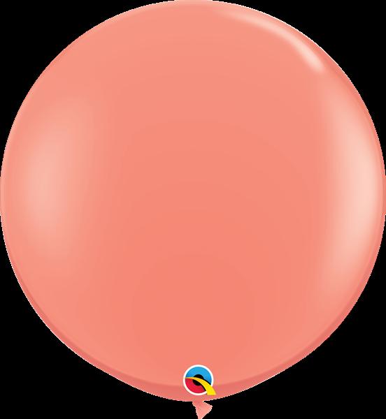Qualatex Latexballon Gigant Coral Ø 90cm