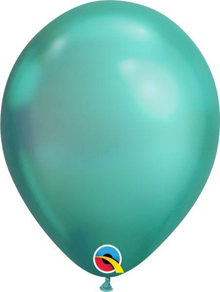 Qualatex Latexballon Chrome Green Ø 30cm