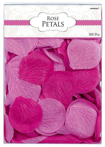 Colourful Wedding Pink - Stoffblütenblätter