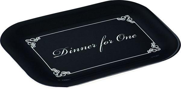 Dinner for One - Snack Tablett