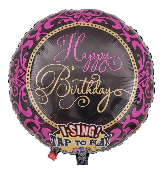 Musikballon Happy Birthday Fabulous Celebration 71cm
