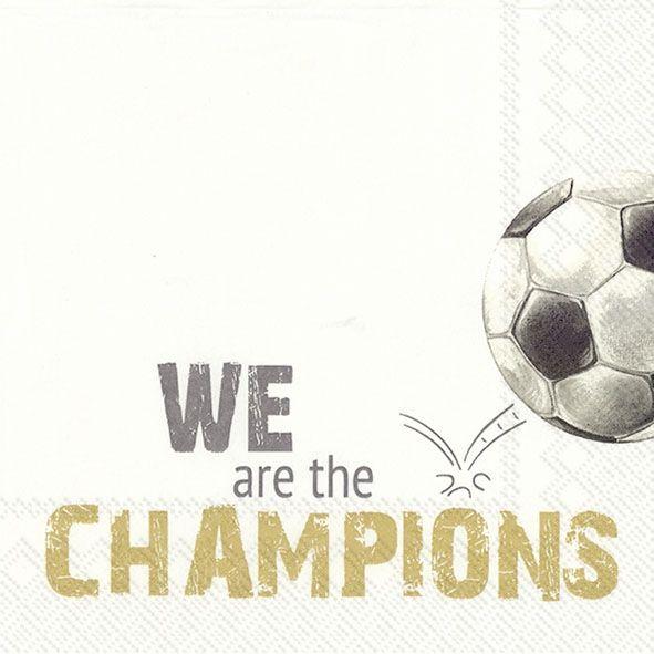 Fußball Champions - 20 Servietten