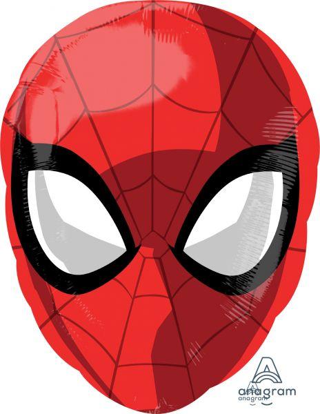 Folienballon Spider-Man Maske 30x43cm