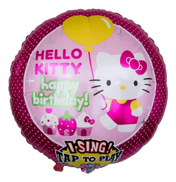 Musikballon Hello Kitty 71cm