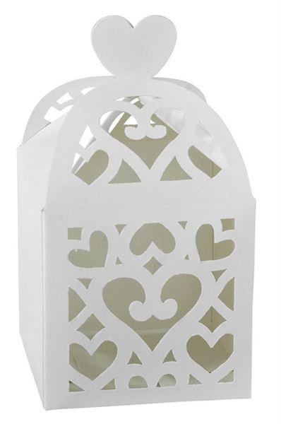 Colourful Wedding White - Geschenkboxen