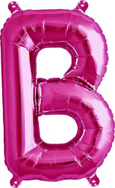 Luftballon Buchstabe B Pink 40cm