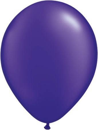 Qualatex Latexballon Pearl Quartz Purple 30cm