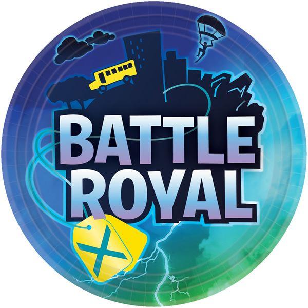 Battle Royal - 8 Pappteller