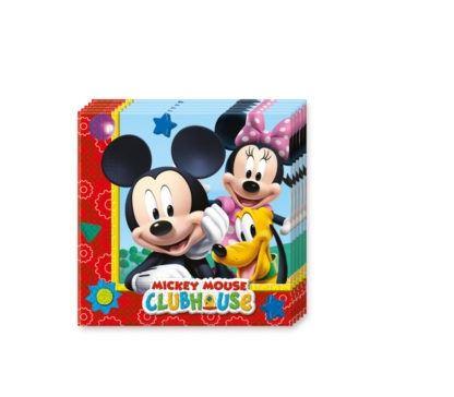 Mickey Mouse - 20 Servietten