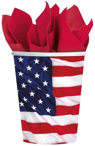 USA - 8 Pappbecher