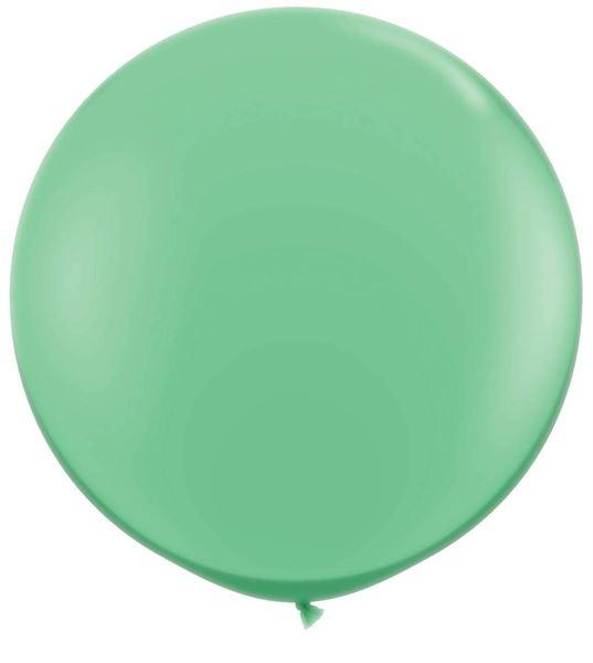 Qualatex Latexballon Gigant Winter Green Ø 90cm
