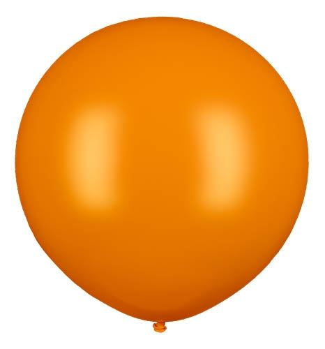 Latexballon Gigant Orange Ø 80cm
