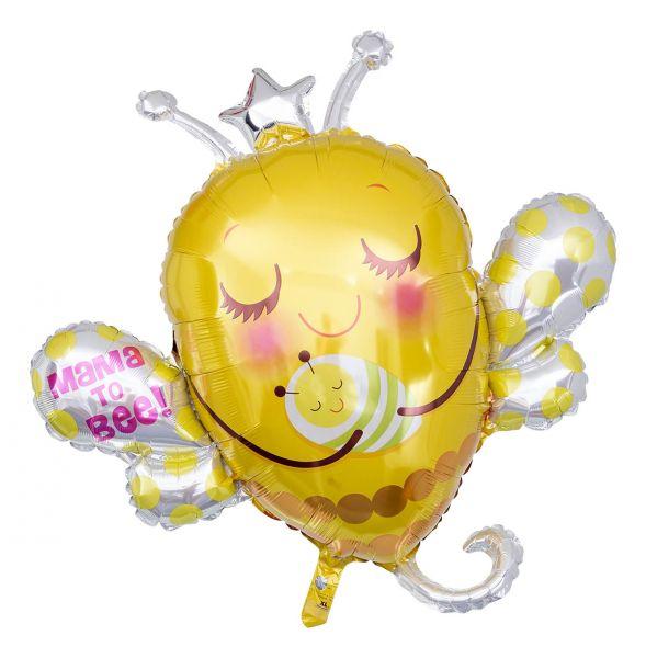 Folienballon Mama to Bee! Bienenkönigin 84 cm