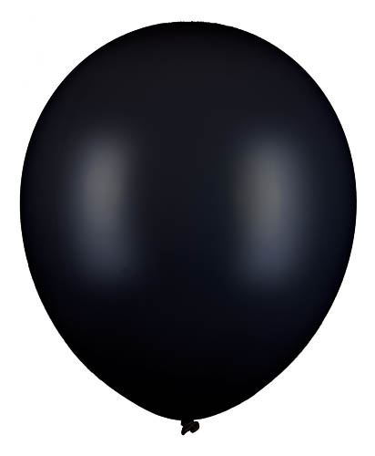 Riesenballon Schwarz 60cm