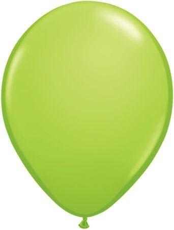 Qualatex Ballon Limettengrün 30cm
