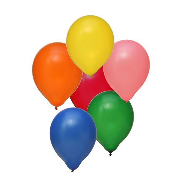 Latexballon Bunt 100 Stück Ø 30cm