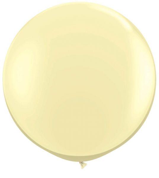 Qualatex Latexballon Gigant Ivory Silk Ø 90cm