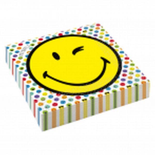Smiley World - 16 Servietten