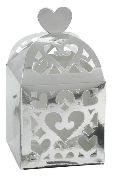 Colourful Wedding Silver - Geschenkboxen