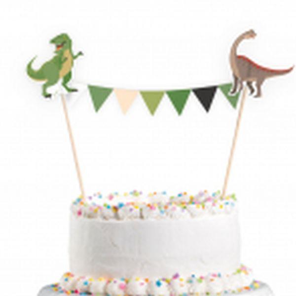 Dinosaurier Party - Kuchengirlande