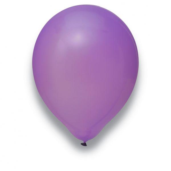 Latexballon Flieder 100 Stück Ø 30cm