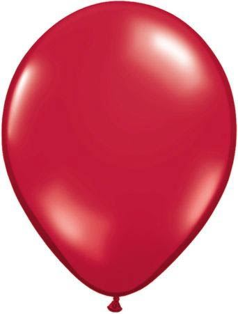 Qualatex Luftballon Rubinrot 13cm