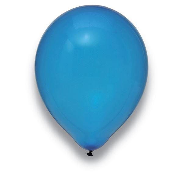 Latexballon Kristall Dunkelblau 100 Stück Ø 30cm