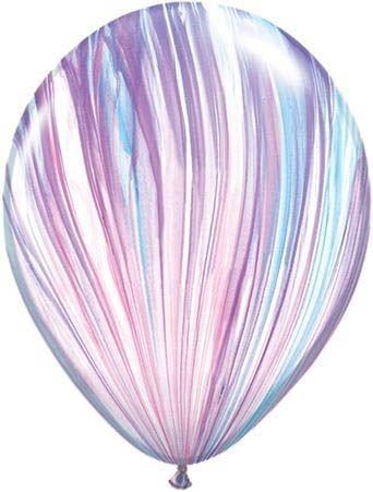 Qualatex Latexballon Super Agate Fashion Ø 30cm