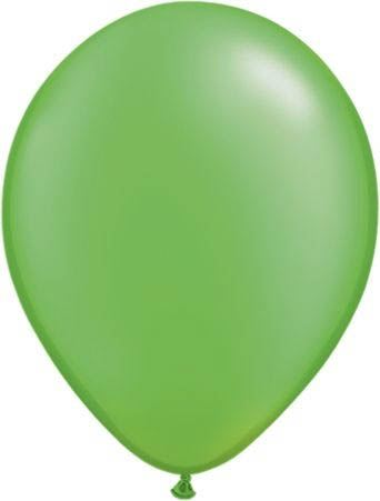 Qualatex Luftballon Pearl Limettengrün 13cm