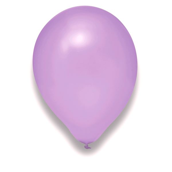 Latexballon Pearl Flieder 100 Stück Ø 30cm
