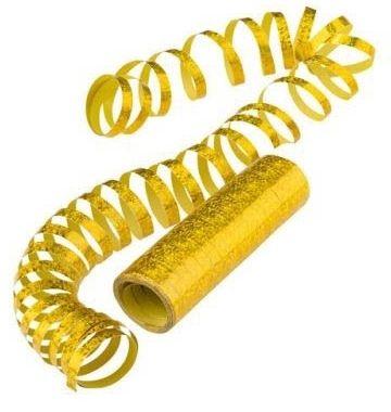 Gold - Holo Luftschlangen