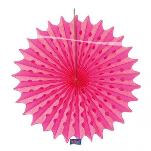 Deko Fächer Neon Pink