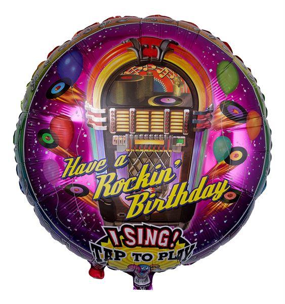 Musikballon Musikbox 71cm