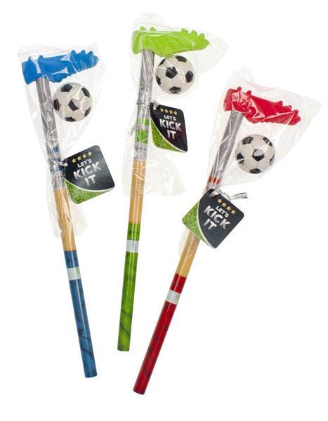 Fußball - Torjäger Bleistift