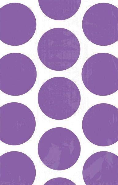 Flider - 10 Polka Dots Süßigkeiten Papiertüten