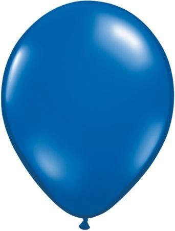 Qualatex Luftballon Saphirblau 13cm