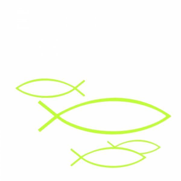 Fisch - 20 Kommunion & Konfirmation Cocktail-Servietten