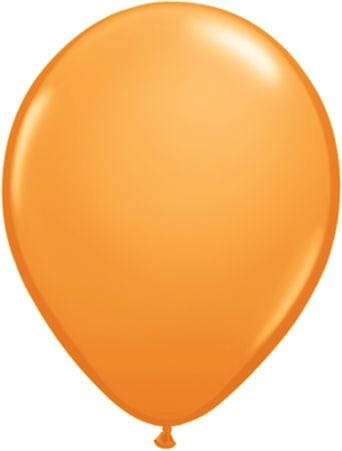 Latex-Luftballons Ø15 cm 100 Stk orange Dekoballons Ballons Hochzeit Luftballon
