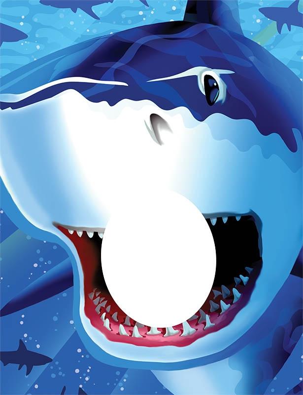 Shark Splash - Fotorahmen | Freunde unter Wasser | Themen für Jungen ...