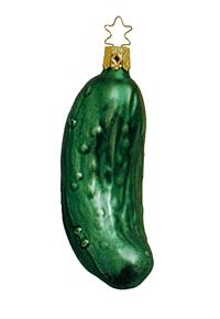 Weihnachtsgurke - Christmas Pickle