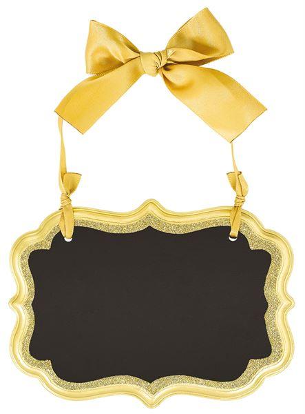 Gold - Tafelschild