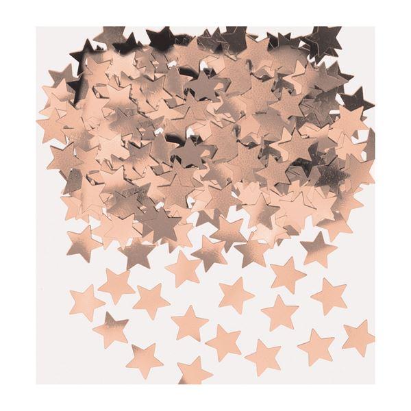 Sternen-Konfetti Roségold