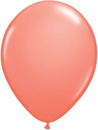 Qualatex Luftballon Koralle 13cm