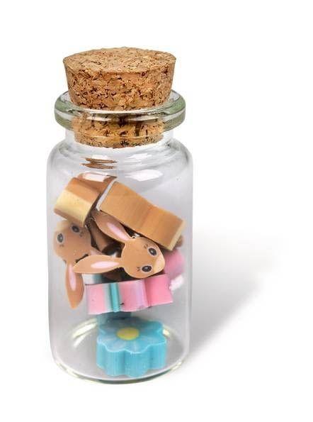 Belle & Boo - 10 Mini-Radiergummis