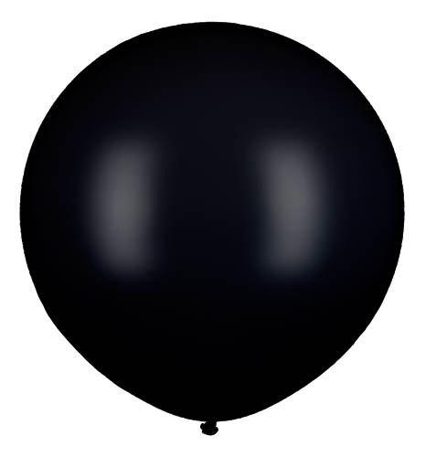 Riesenballon Schwarz 80cm