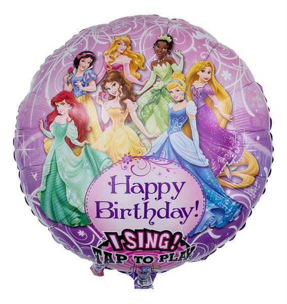 Musikballon Disney Prinzessinnen 71cm