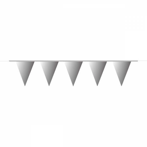 Silber - Wimpelkette