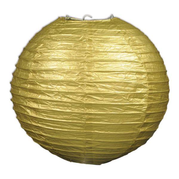 3 Goldene Papierlaternen