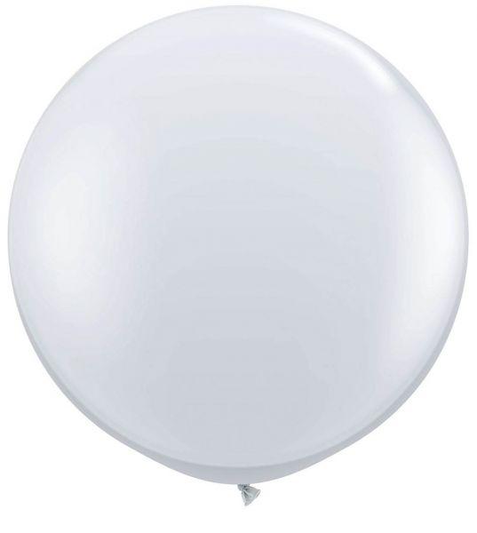 Qualatex Latexballon Gigant Diamond Clear Ø 90cm